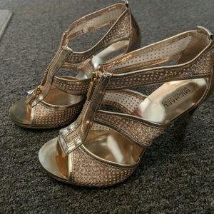 Michael Kors Berkley T strap heels